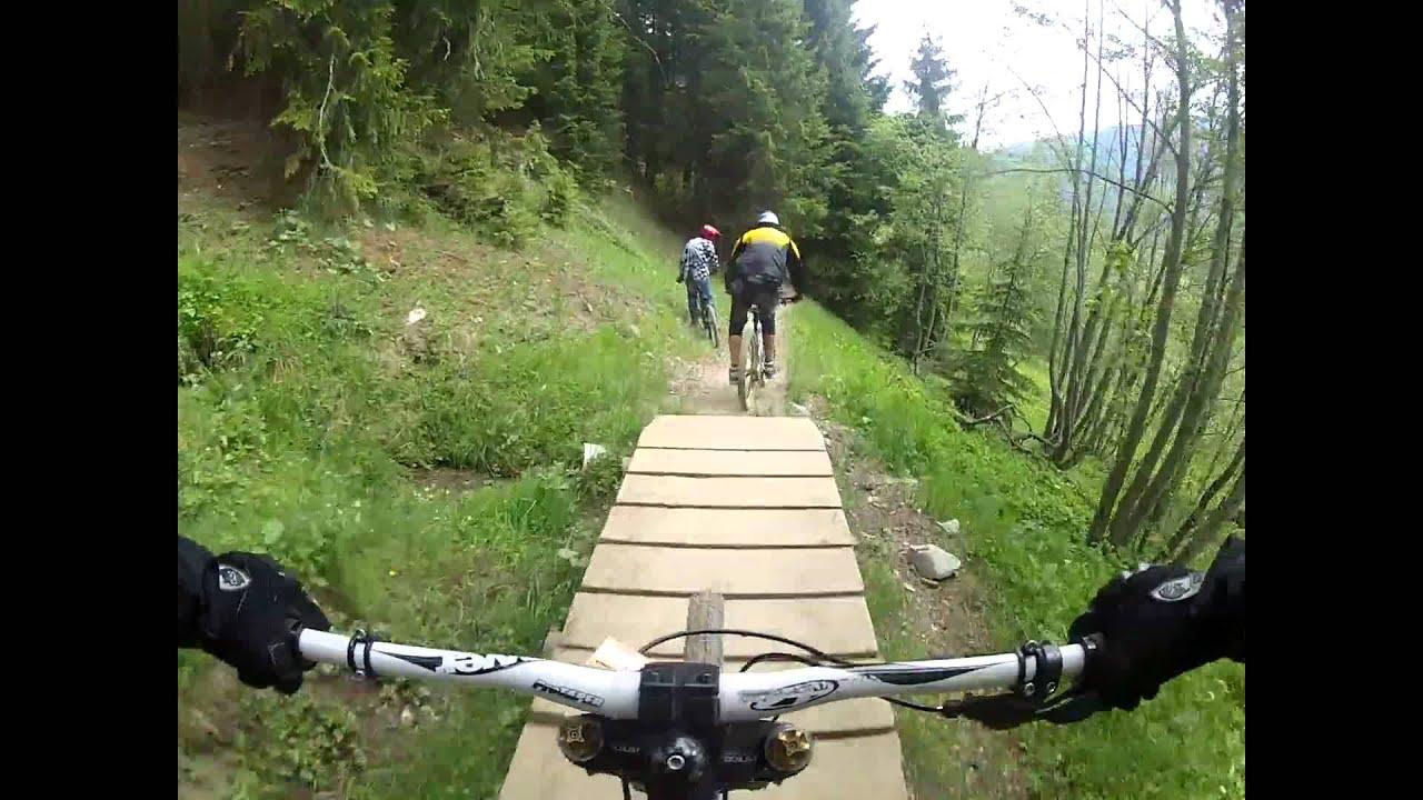 Bikepark Saalbach Hinterglemm Blueline Pfingsten 2012 Youtube