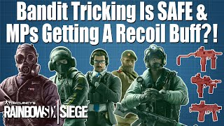 Bandit Tricking is SAFE, MPs Visually Buffed, New Breaching and much more! - Rainbow Six Siege