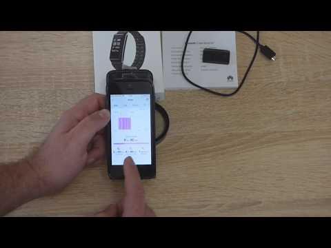 Okosóra teszt, 3.termék: Huawei Color Band A2 fitneszóra