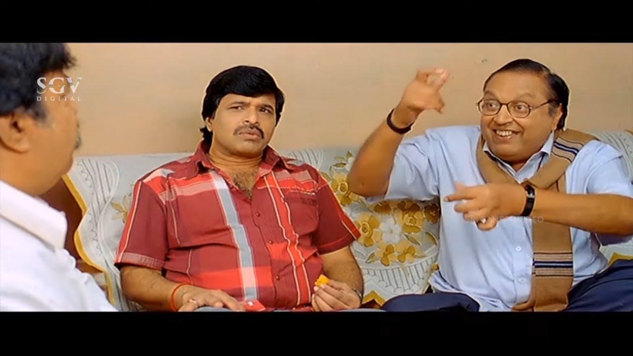 ನಿಮ್ಮ ಲಕ್ಷ್ಮಿ ಒಂದು ಹೊತ್ತಿಗೆ ಎಷ್ಟು ಲೀಟರ್ ಹಾಲು ಕುಡುತ್ತೆ | S Narayan and Sundar Raj Comedy Scenes