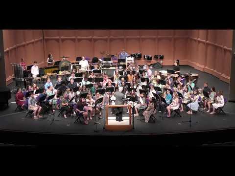 Symphonic Band, 2018 Furman University Band & Orchestra Camp