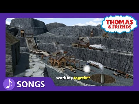 Working Together (Blue Mountain Quarry) | Steam Team Sing Alongs | Thomas & Friends
