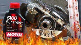 Motul 6100 Synergie+ 10W40 Jak skutecznie olej chroni silnik? 2kg