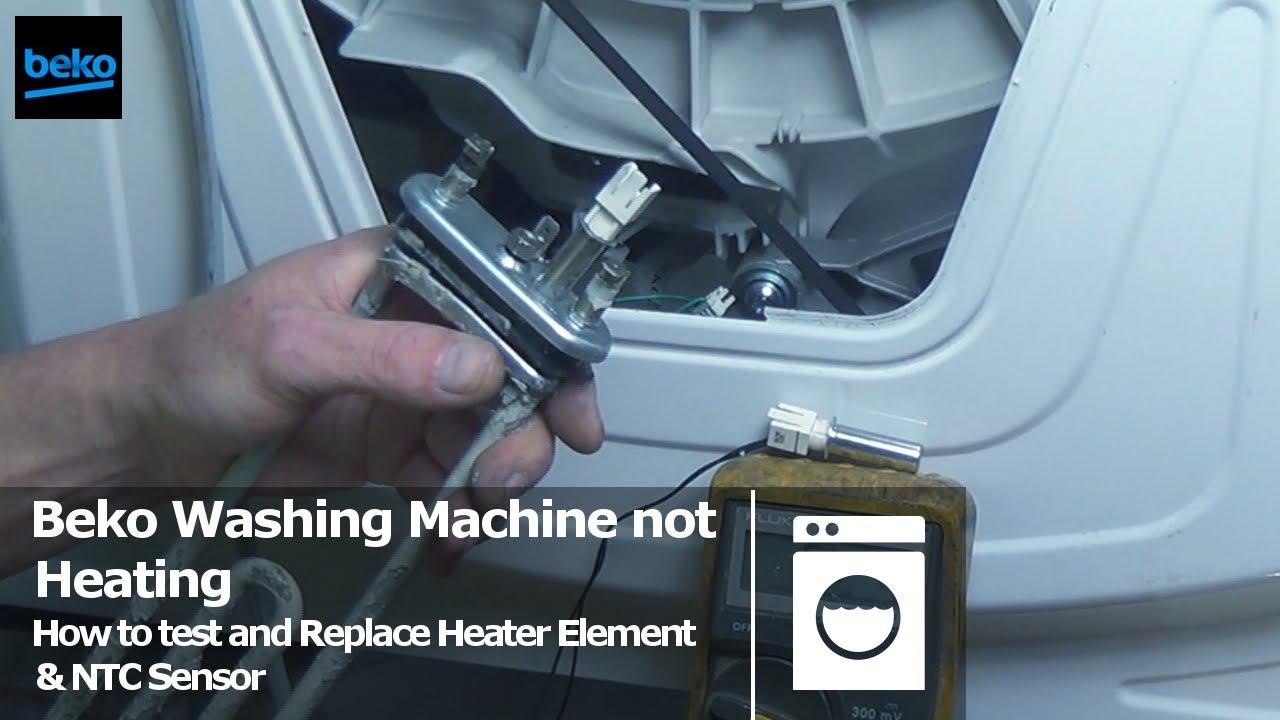 Beko Washing Machine Not Heating Water How To Test Element