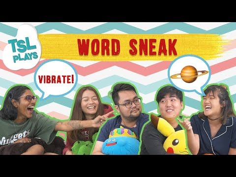 TSL Plays: Word Sneak