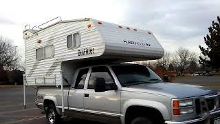 Unicorn truck camper toyhauler