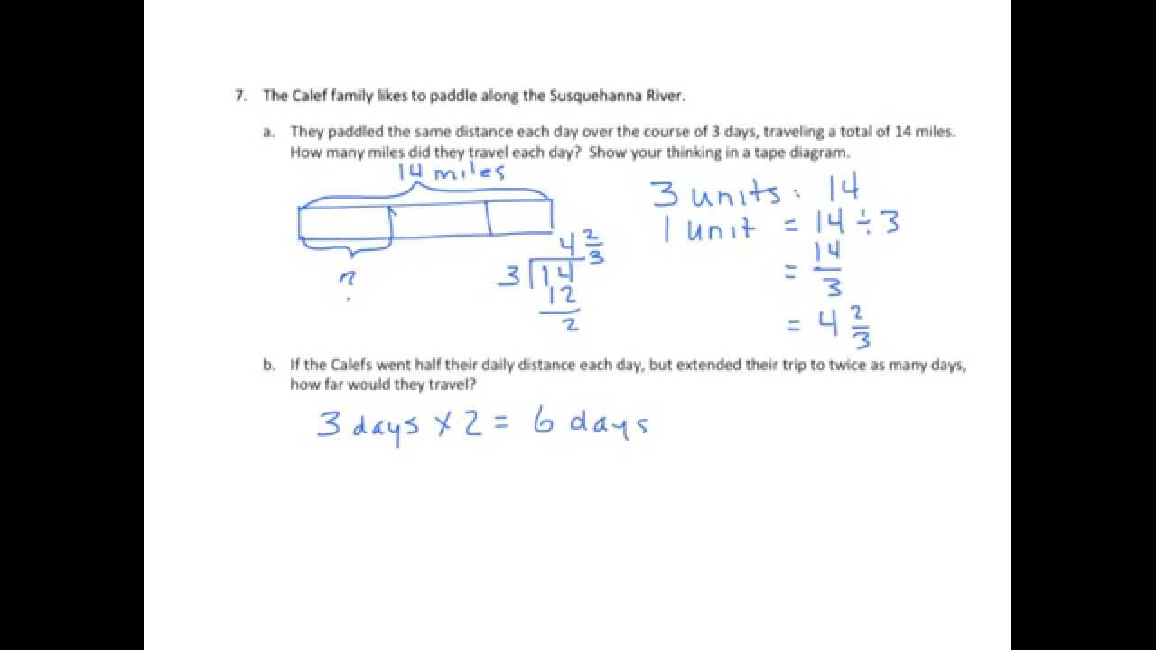 Grade 5 Engageny Eureka Math Module 3 Lesson 4 - Inspirational