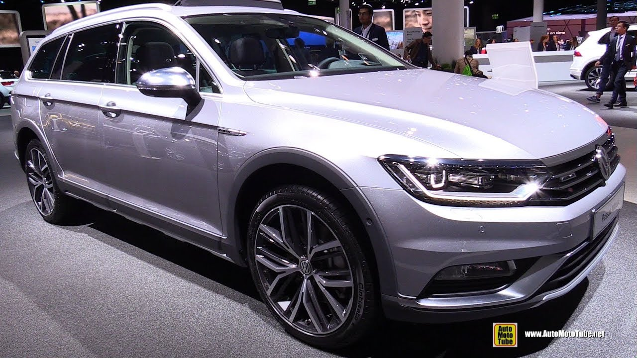 2018 volkswagen passat alltrack tdi exterior and interior walkaround 2017 frankfurt auto. Black Bedroom Furniture Sets. Home Design Ideas