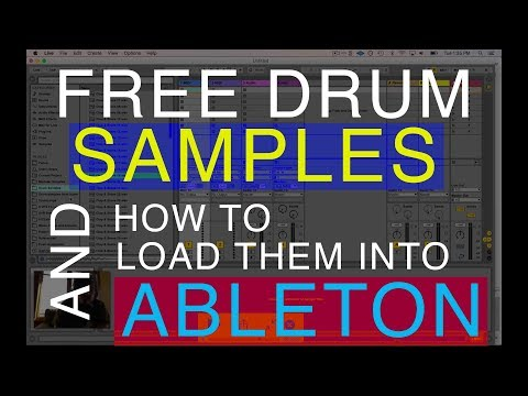 Free Drum Samples & How to Load them into Ableton