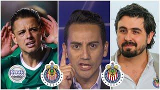 'Si Chicharito se va a la MLS, habrá cometido un pecado', Del Valle a Amaury Vergara | JRYSB