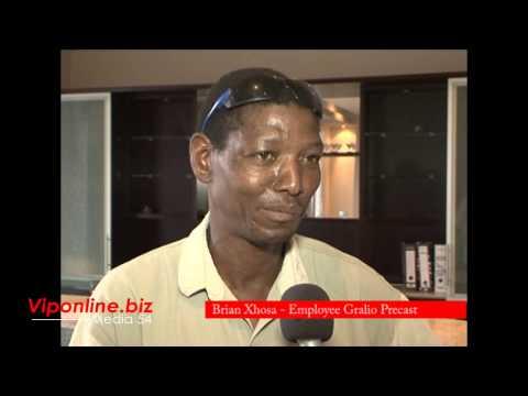 Brain Xhosa - Employee of Gralio Precast