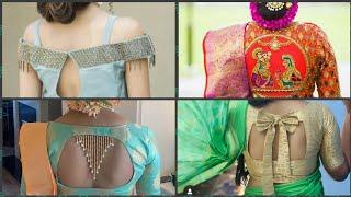 New latest and unique blouse design 2019 #blousedesign #uniquecollection