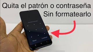 Cómo desbloquear mi celular sin contraseña / sin formatearlo / quitar patrón olvidado