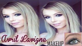 Maquiagem inspirada na AVRIL LAVIGNE ♥ (Avril Lavigne makeup) By Larissa Mocellin