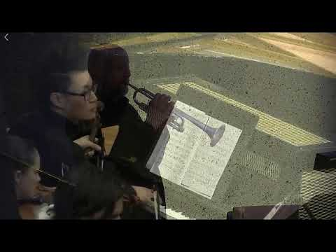 A tribute to John Curro. Trumpet solo from Resphigi's 'Pines of Rome'. QYO Alumni Orchestra