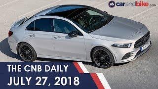 Mahindra U321 MPV | Mercedes-Benz A-Class Sedan | Piaggio Vespa Notte | 2018 Honda Aviator