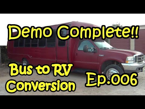 Bus-2-RV - Ep.006 - Interior Demo5