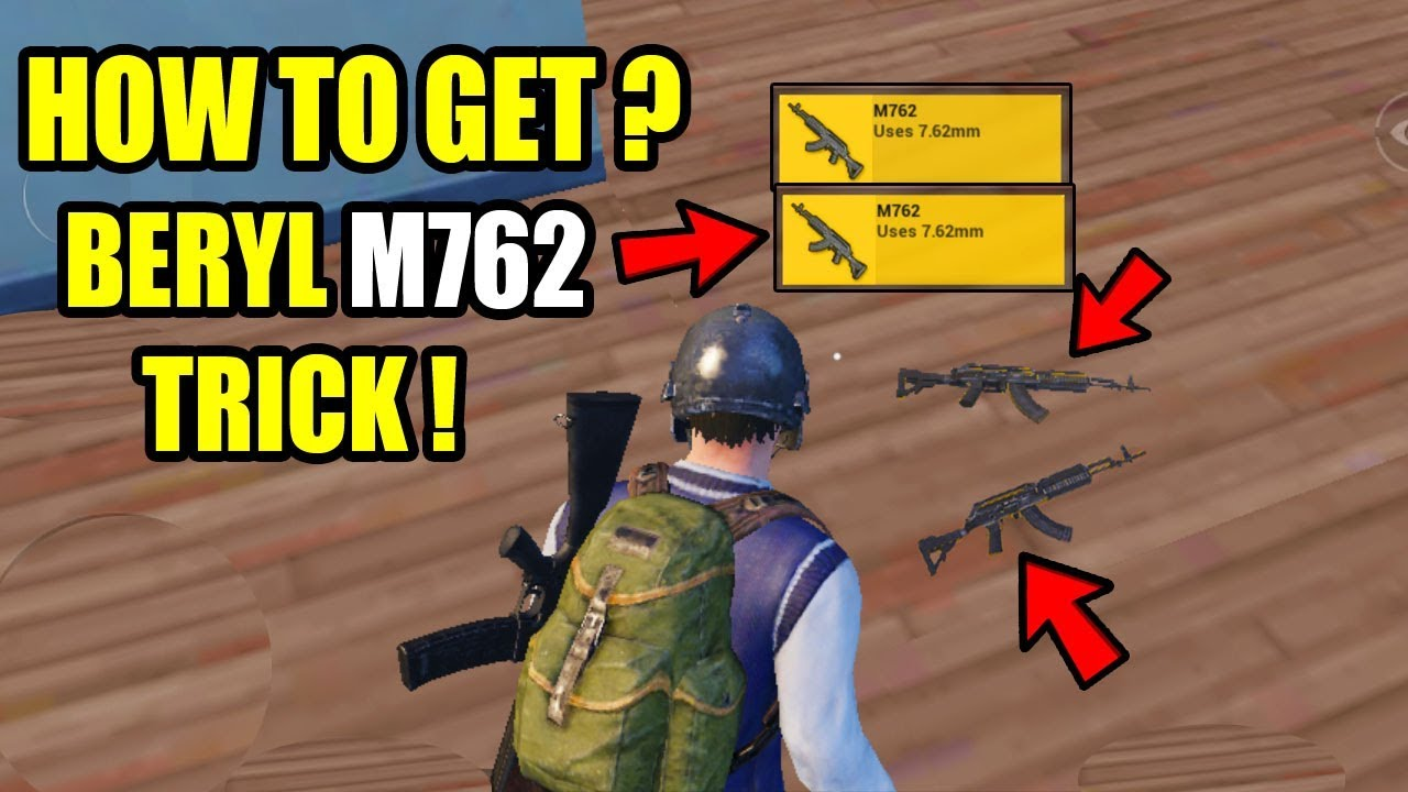 M762 Pubg: How To Find The Beryl M762 Rifle After 0.9 Update In PUBG