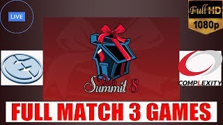 🔴 ( DOTA 2 LIVE NOW ) Optic Gaming v.s Fnatic || Dota Summit 8 || 3 Games