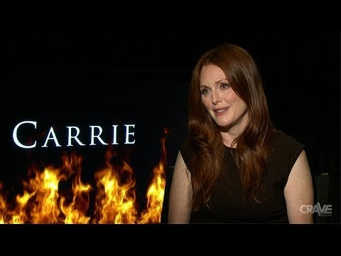carrie 2013 cast amp director interviews youtube