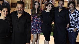 Gambar cover Sanjay Dutt's 59th Birthday Party 2018 In Mumbai Complete Video HD