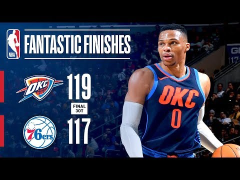 Download Youtube: Thrilling 3OT Finish Between the Thunder and 76ers | December 15, 2017