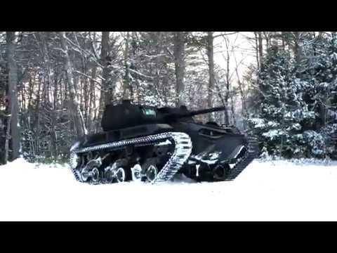 Ripsaw M5 Electric Drive Super Tank