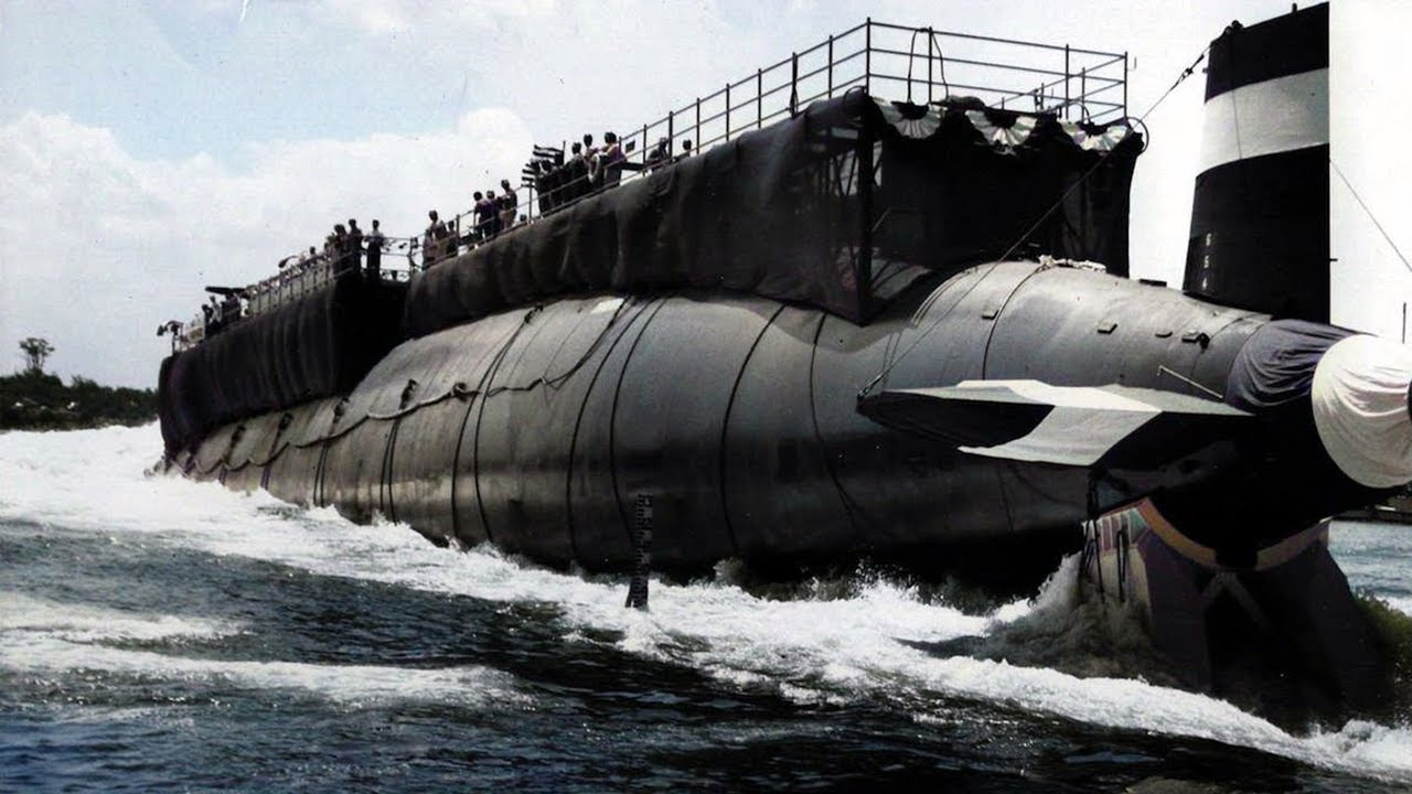 The Classified Sinking of the Submarine USS Thresher