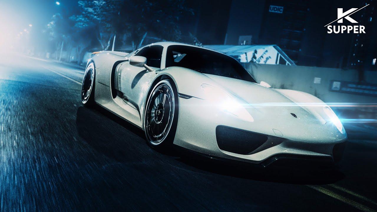 Nhà Vua Đã Đến ! Porsche 918 Spyder