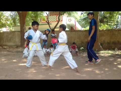 For explanation. ashi te karate do this