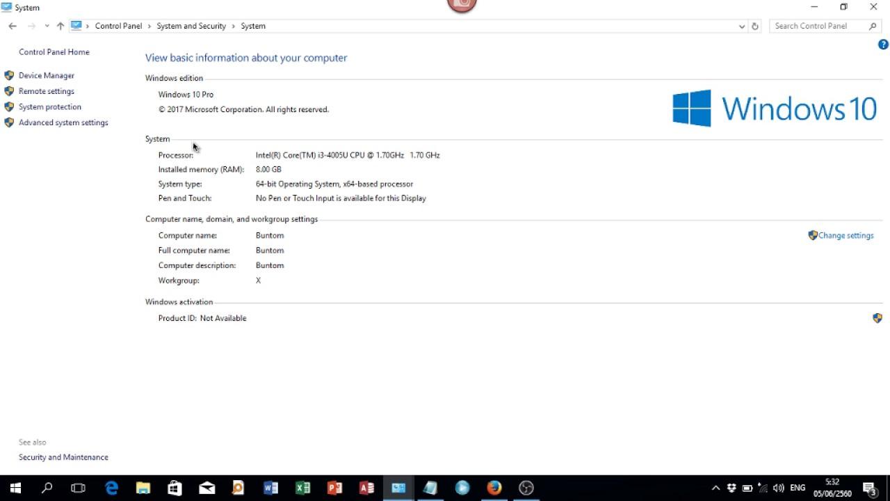 วิธีดูการ์ดจอ Windows 10 วิธีดูยี่ห้อ รุ่นของการ์ดจอใน Windows 10 แบบไม่ต้องแกะเครื่องคอม