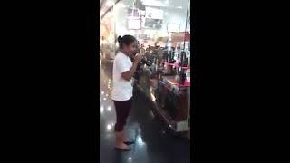 Trending to!!! Napadaan lang sa mall. Sobrang galing. Song: Patuloy ang Pangarap - Angeline Quinto