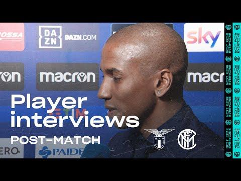 LAZIO 2-1 INTER | YOUNG + VECINO EXCLUSIVE INTERVIEWS [SUB ENG+ITA]