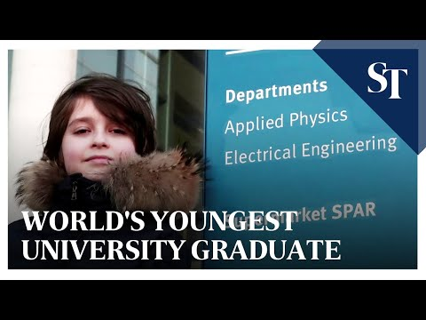9-year-old to become world's youngest university graduate