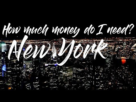 How much money do I need to travel to New York City? | NYC