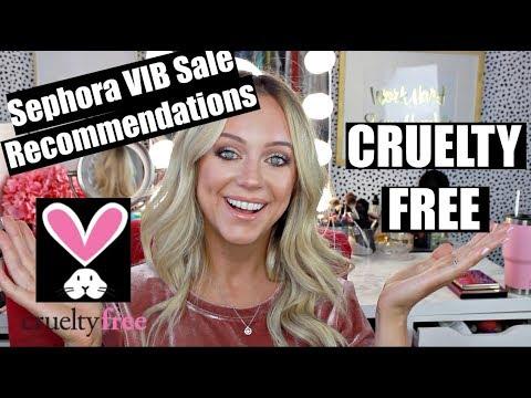 Sephora VIB Sale Recommendations | Cruelty Free!