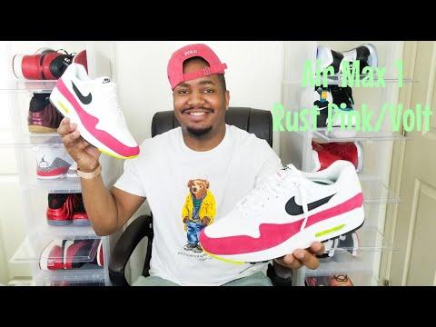Nike Air Max 1 Rush Pink / Volt Review