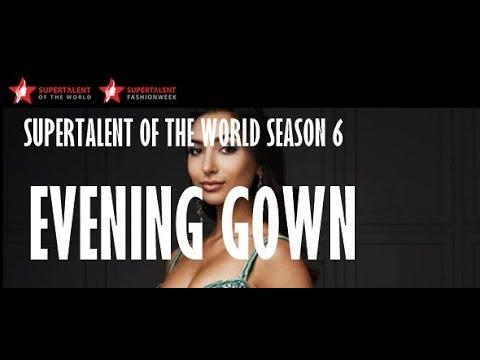 Miss SUPERTALENT 2016 Season 6 -  Evening Gown Parade