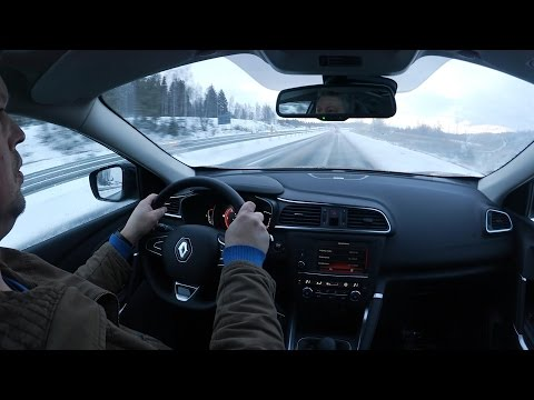 Kaaran Koeajossa Renault Kadjar 2016 - Kattavat Ajokommentit