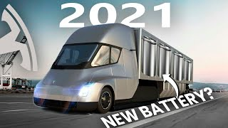 Elon Musk's New Tesla Semi Batteries Will Make Gas Trucks Obsolete!