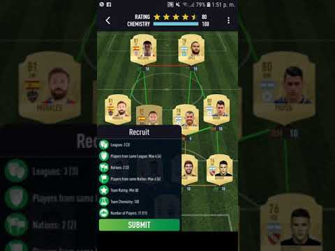 """SBC """"RECRUIT"""" HYBRID NATIONS AND LEAGUES // FUT DRAFT 19 PACYBITS"""