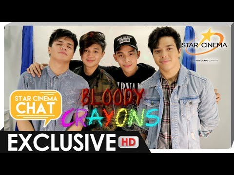 [FULL] Star Cinema Chat with Elmo, Diego, Yves, and Ronnie | 'Bloody Crayons'