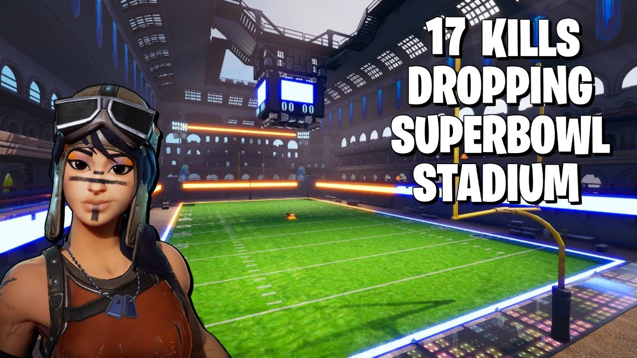 Download 17 KILLS In The Fortnite Superbowl Stadium (Fortnite Battle Royale)