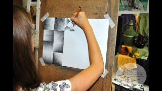 "Уроки рисования ""Штриховка карандашом"""