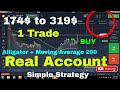 iq option strategy for 60 second strategy  Alligator.  Proper use of Alligator with moving Average