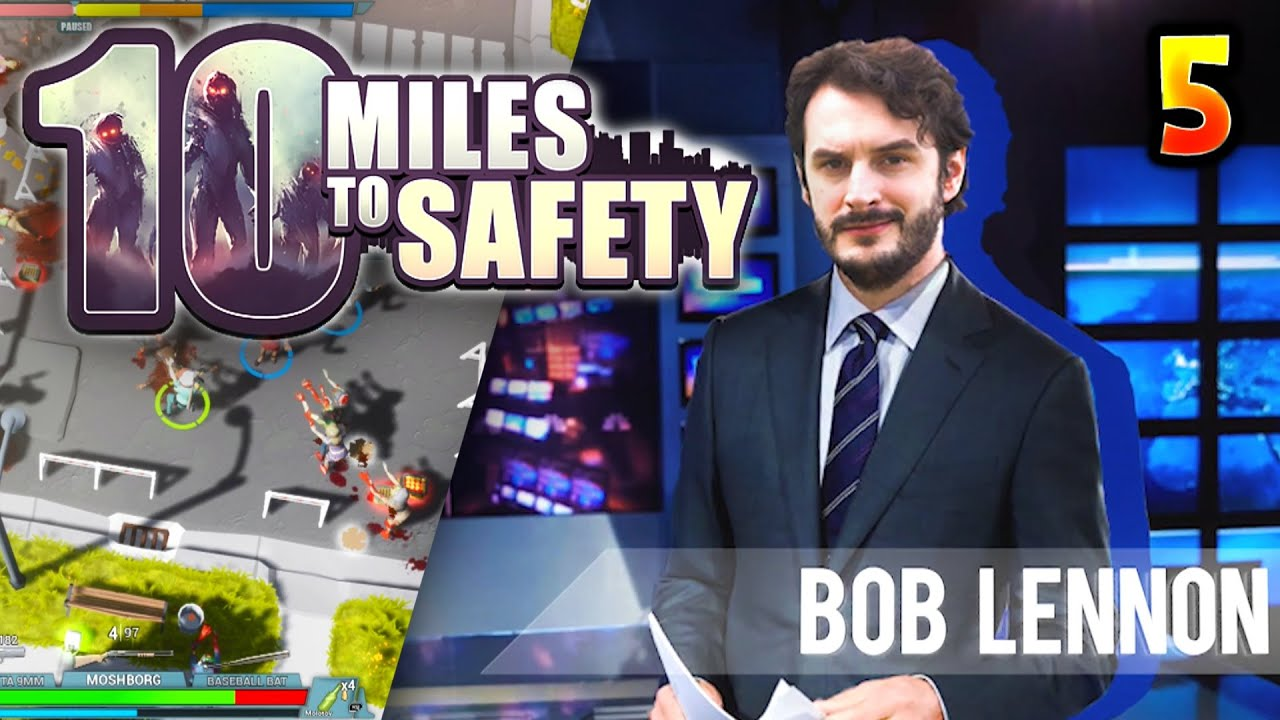 LE PORT NOUS MASSACRE !!! -10 Miles to Safety- [COOP] Ep.5