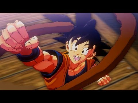 I NEED THIS GAME! NEW EXCLUSIVE Dragon Ball Z Kakarot GAMEPLAY