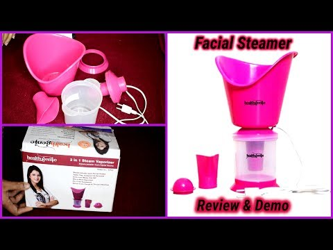 Facial steamer Review & Demo/Facial Steaming For Glowing And Younger looking skin