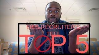 TOP 5 Recruiter Lies | WATCH BEFORE JOINING THE AIR FORCE