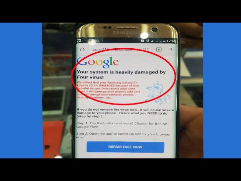 How To Fix Automatically Tabs Open In Android's Chrome Browser( 100 % Virus Removed ) 2018
